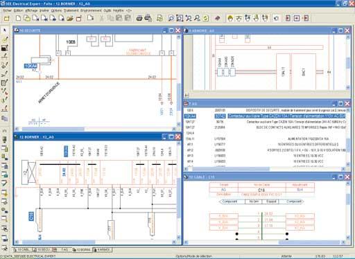 ASL2I Bureau d'étude électricité industrielle Automatisme See Electrical Expert Eplan